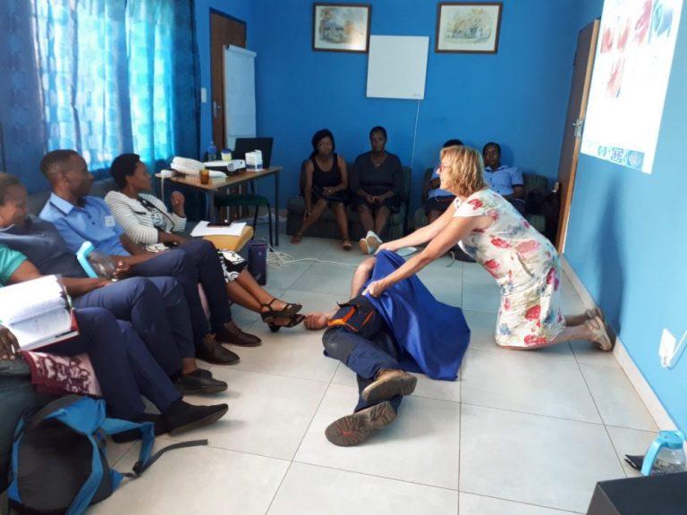 Presenteren in Zuid-Afrika, een uitdaging